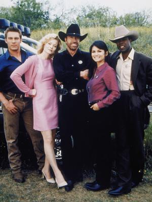 Affiche de la série Walker, Texas Ranger