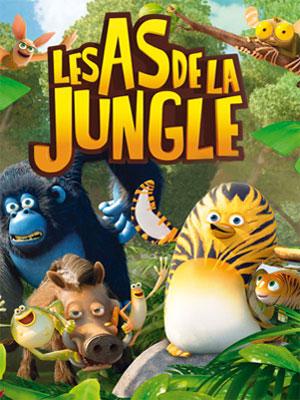 Affiche de la série Les As de la jungle