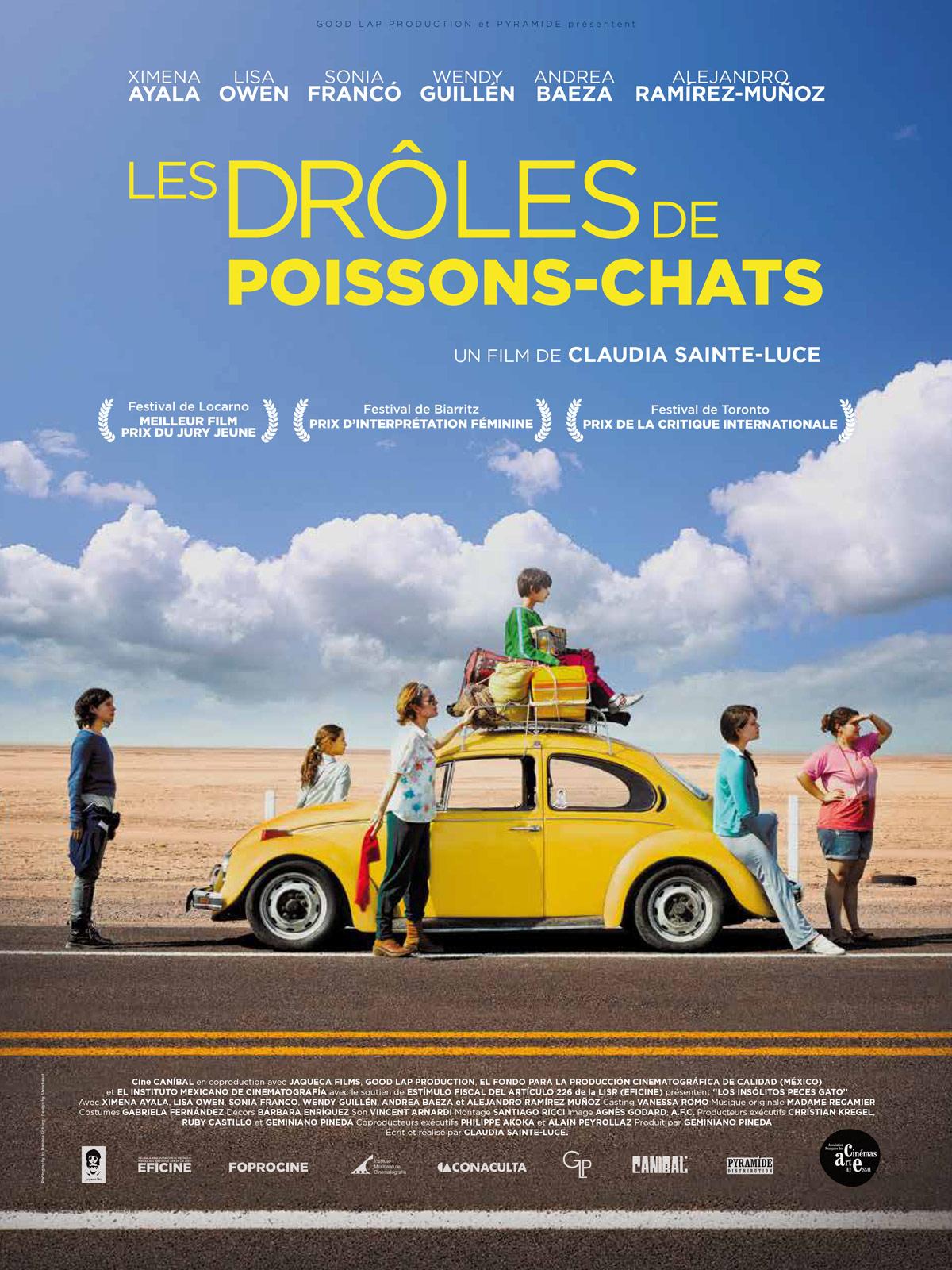 Les Droles De Poissons Chats Film 2013 Allocine