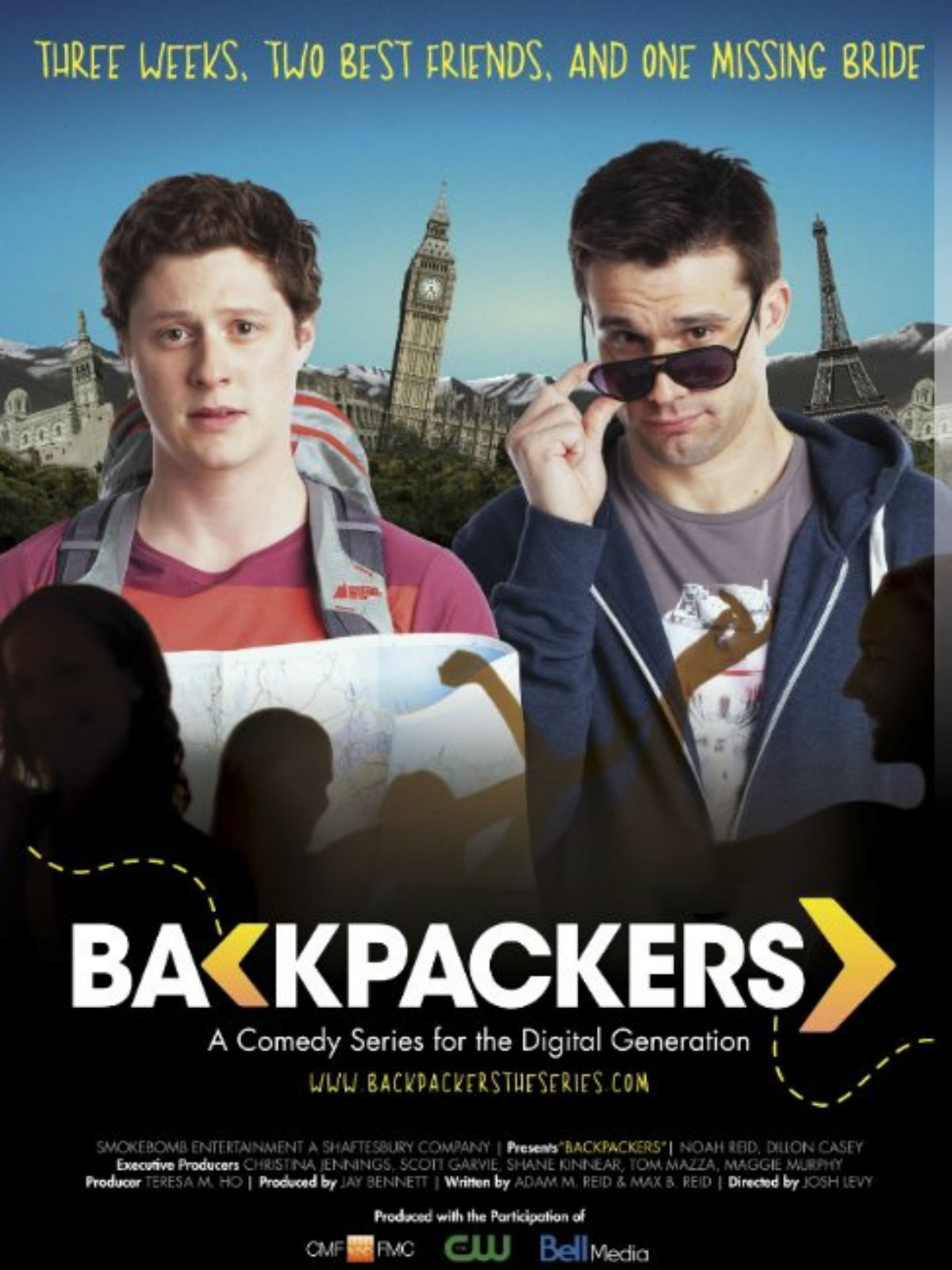 Affiche de la série Backpackers