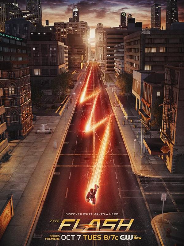 Affiche de la série Flash (2014)