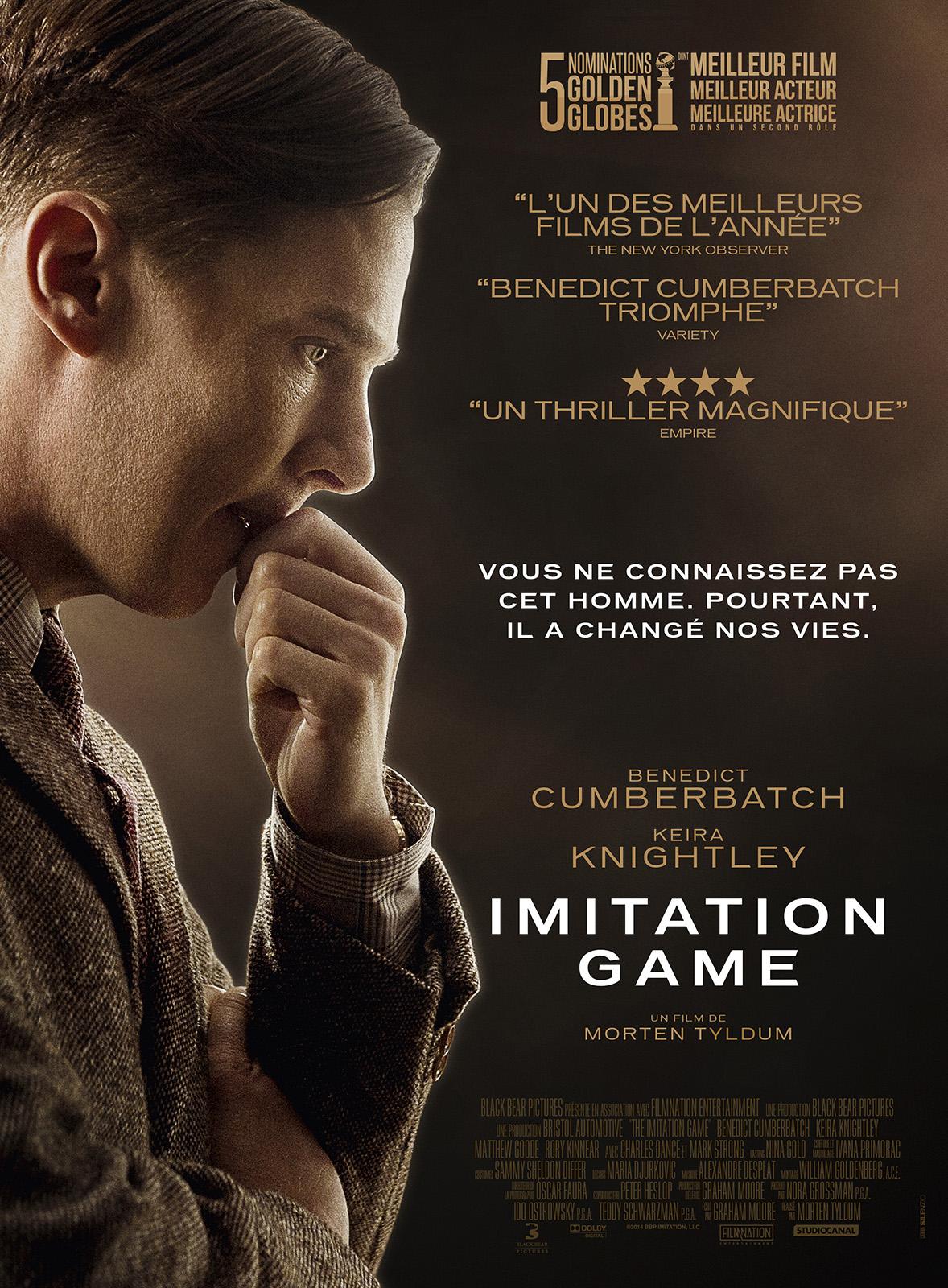 Achat Imitation Game en DVD - AlloCiné