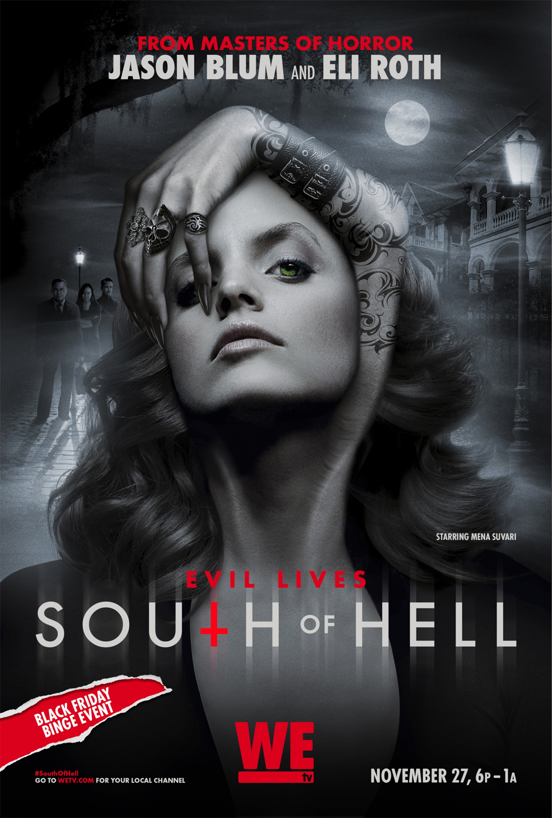 Affiche de la série South of Hell