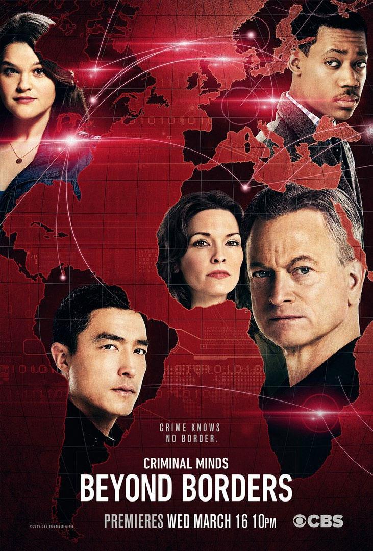 Affiche de la série Esprits Criminels : unité sans frontières