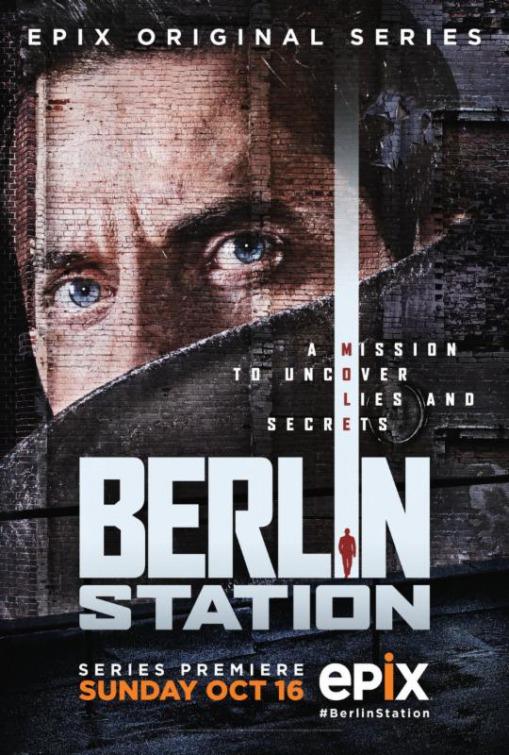 Affiche de la série Berlin Station