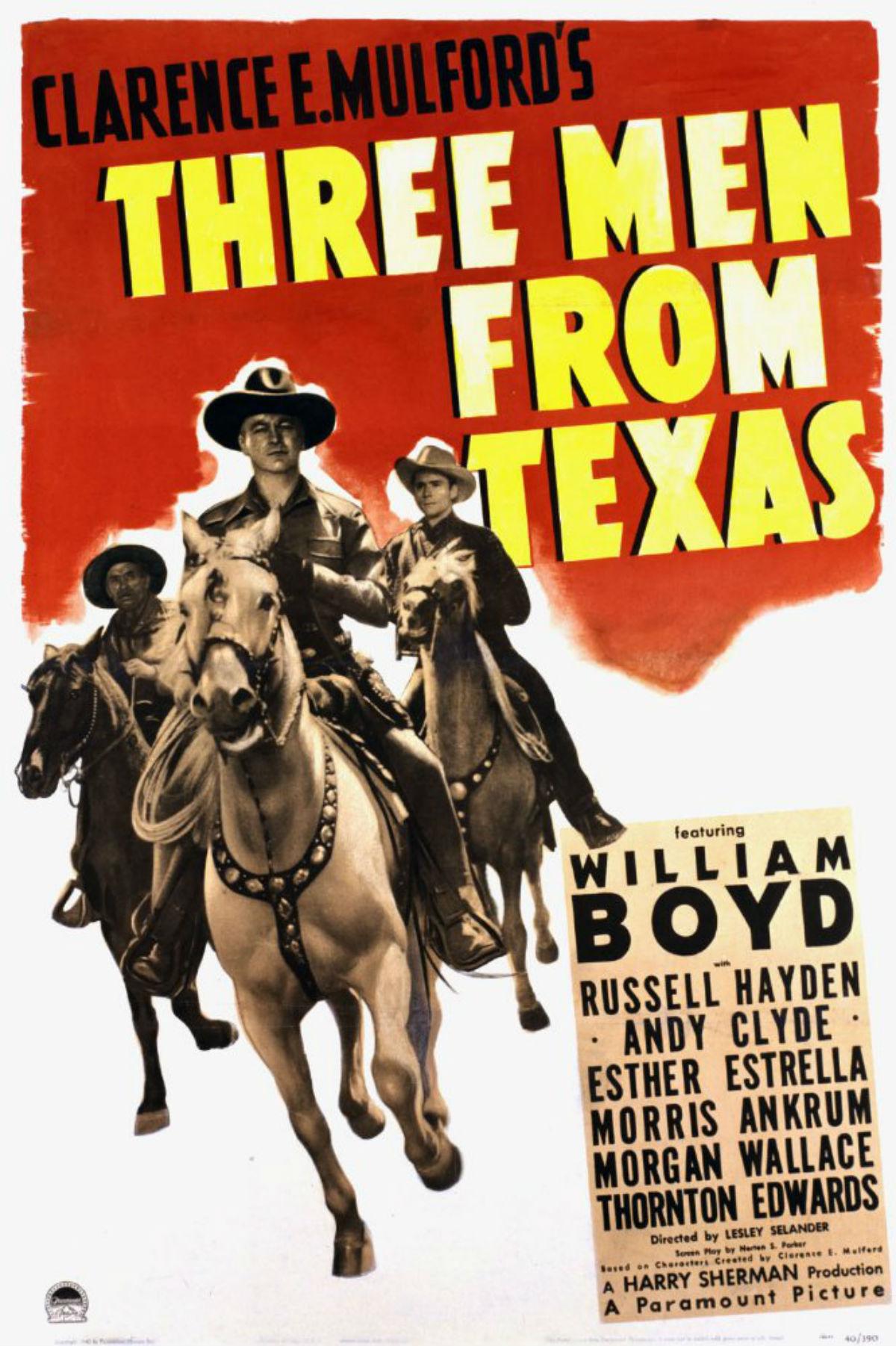 Télécharger Trois hommes du Texas DVDRIP VF