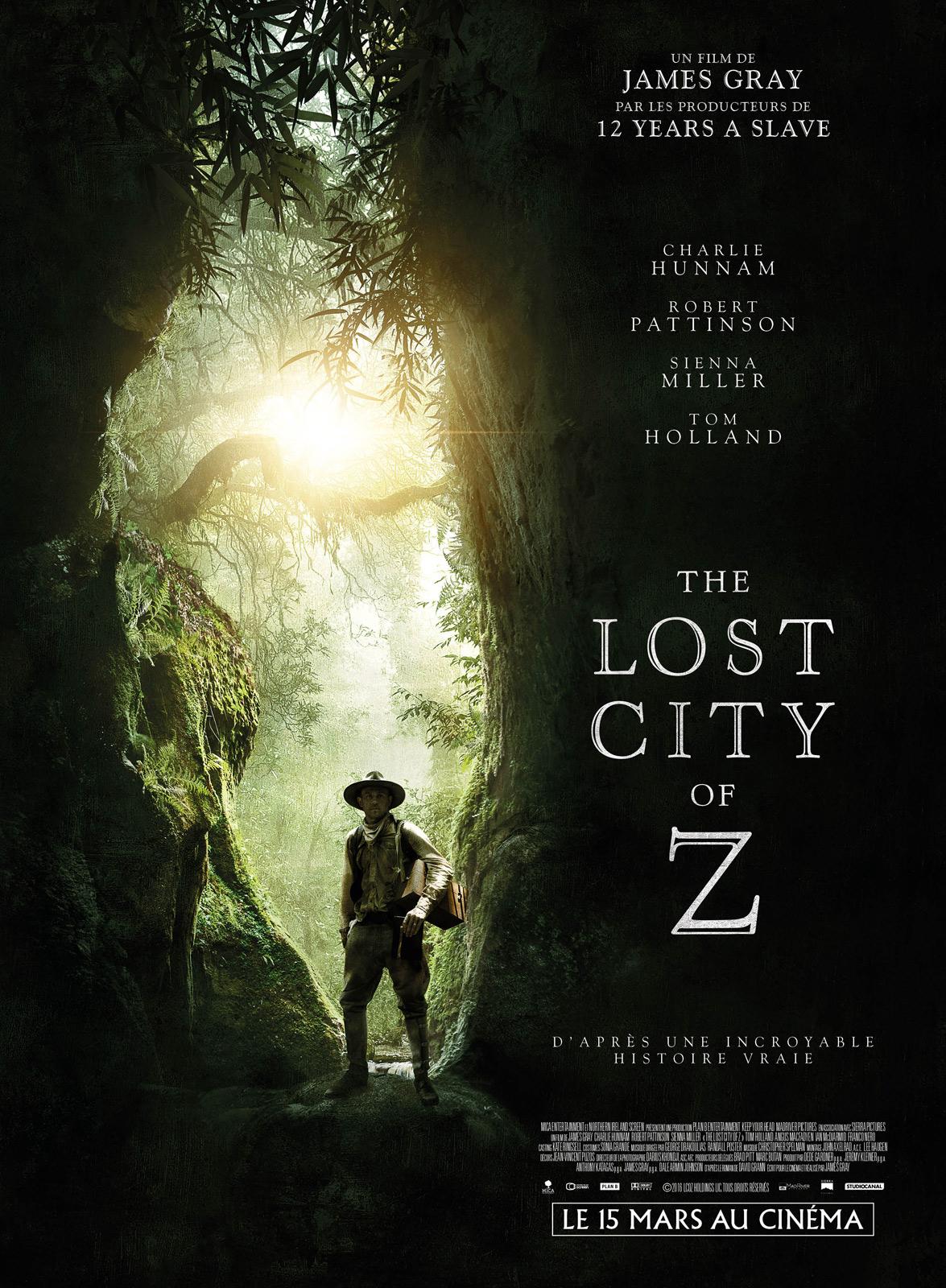 Achat The Lost City of Z en DVD - AlloCiné