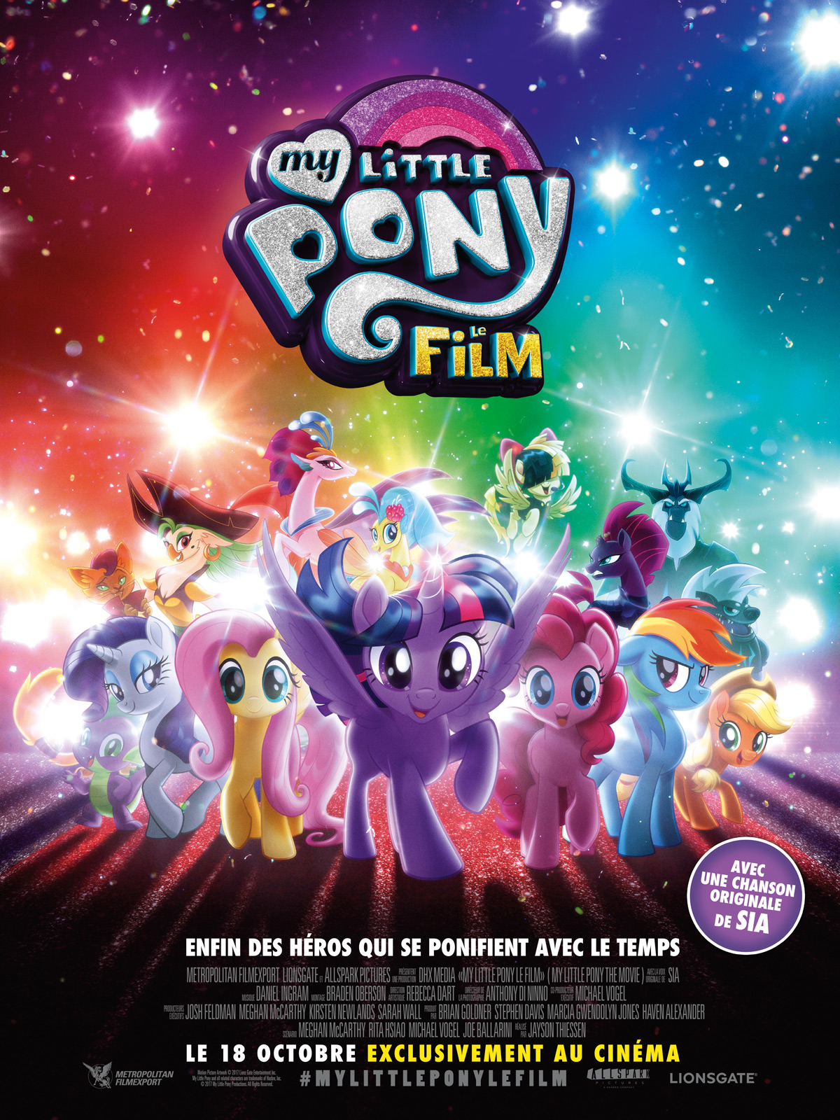 AfficheMy Little Pony : le film