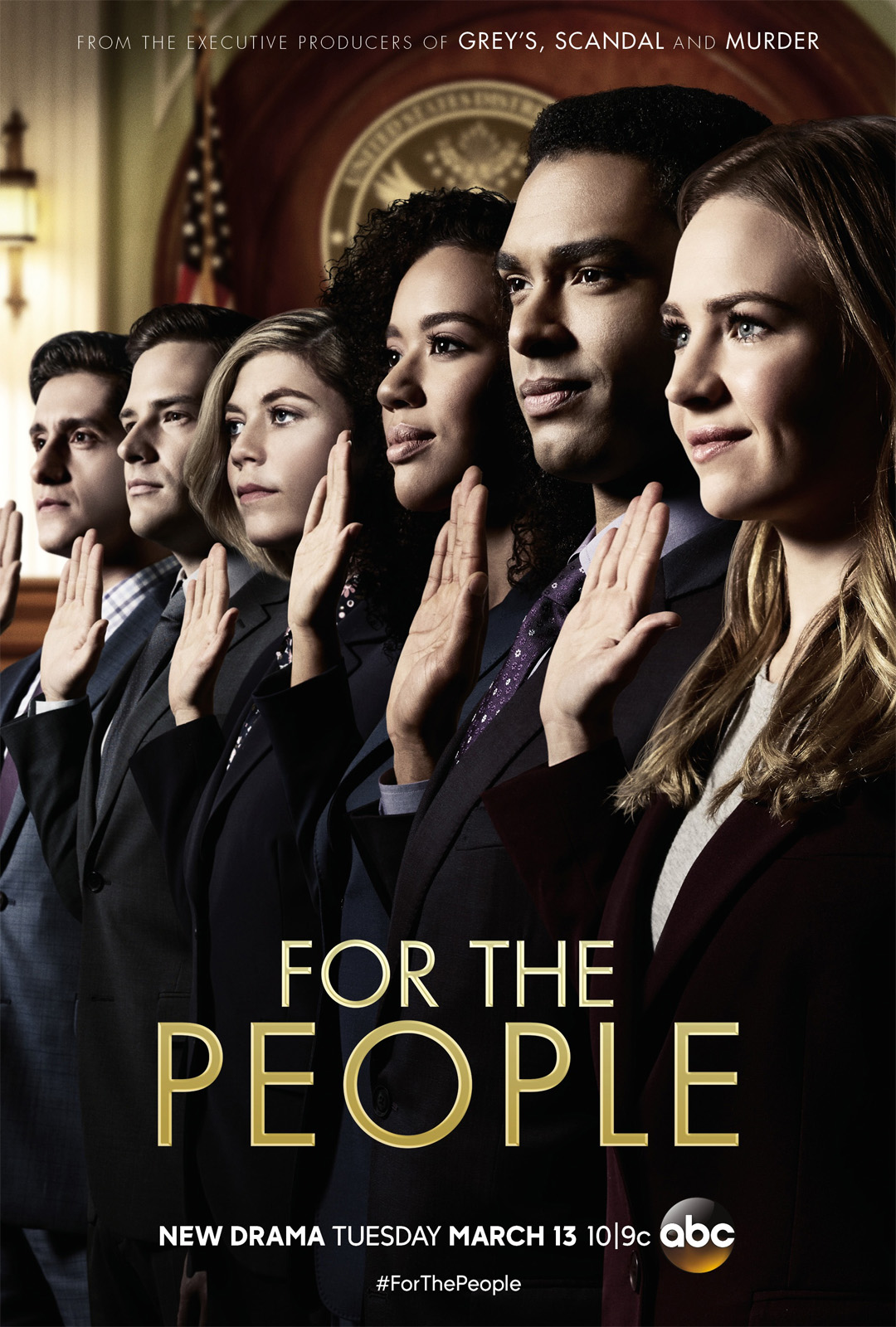 Affiche de la série For the People (2018)
