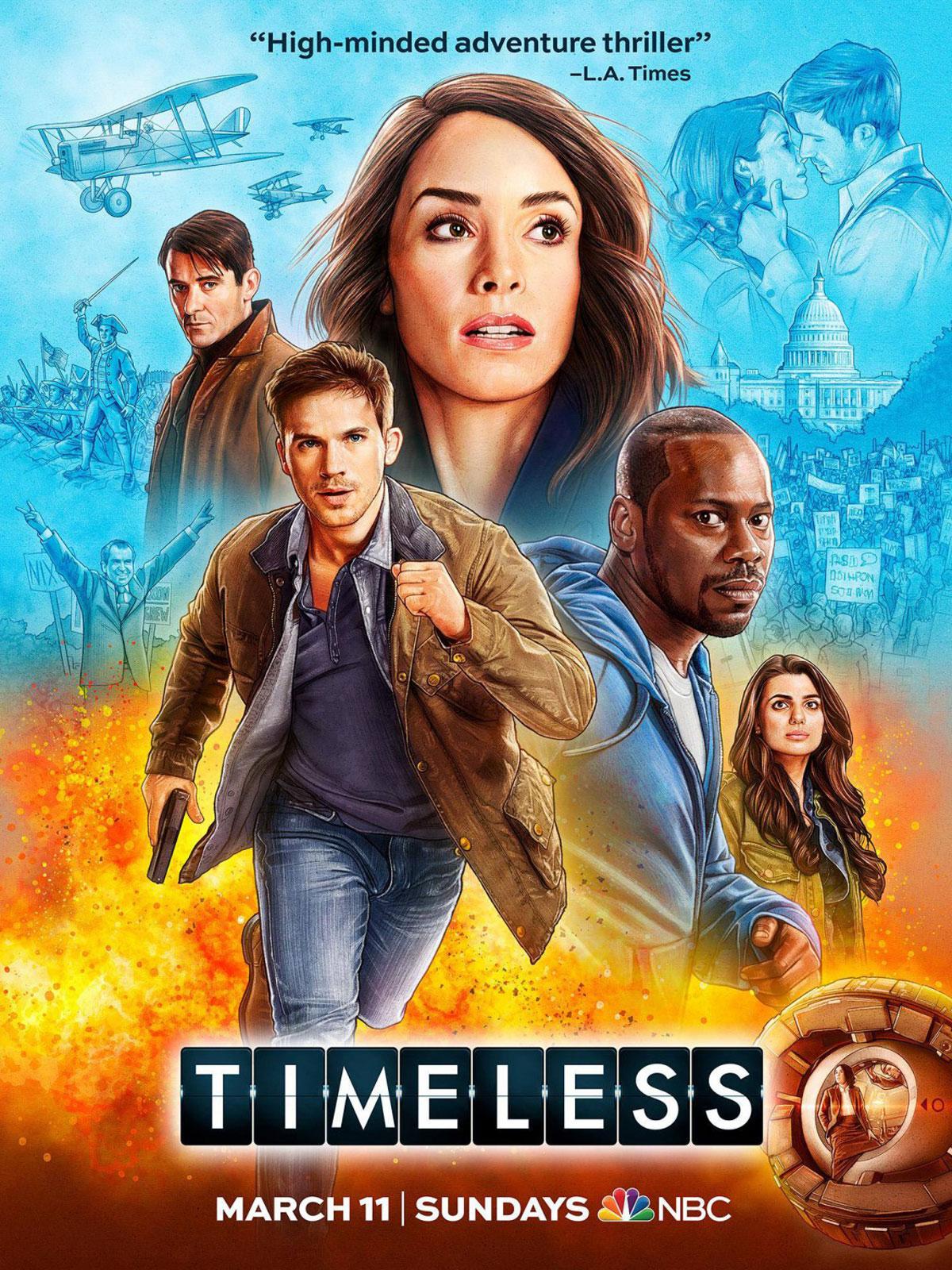 Affiche de la série Timeless
