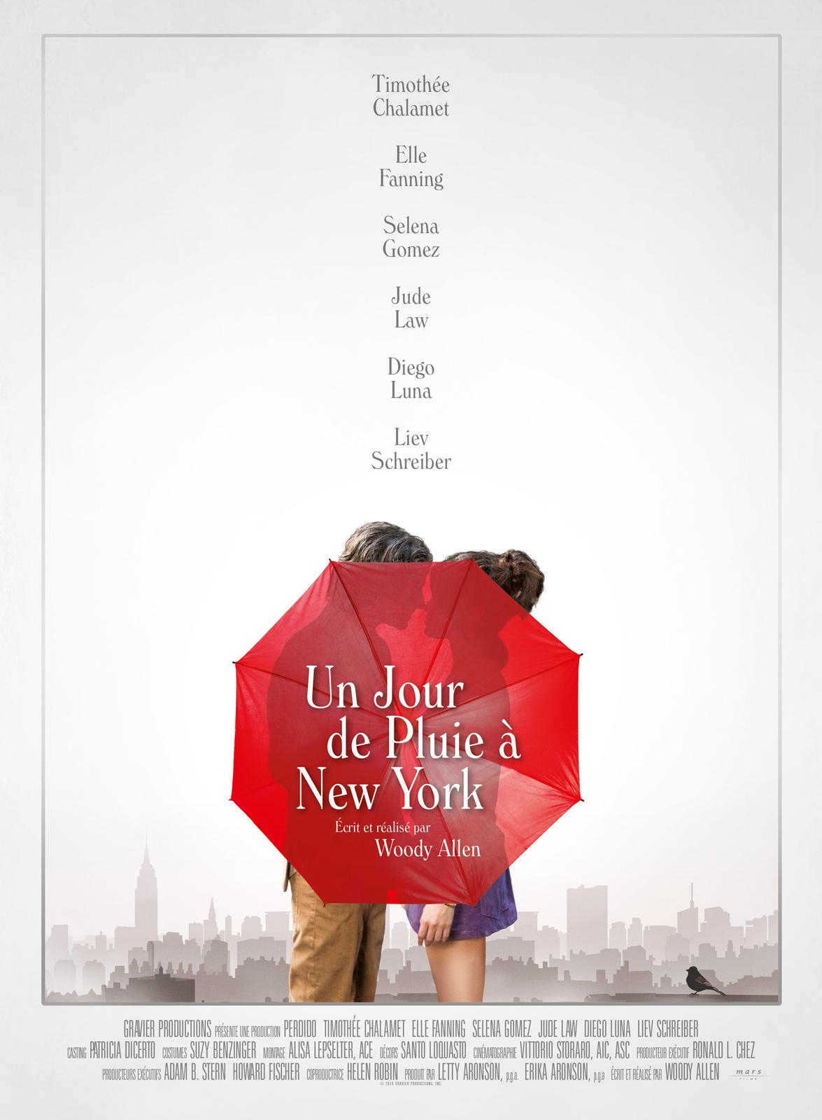 Un jour de pluie à New York streaming