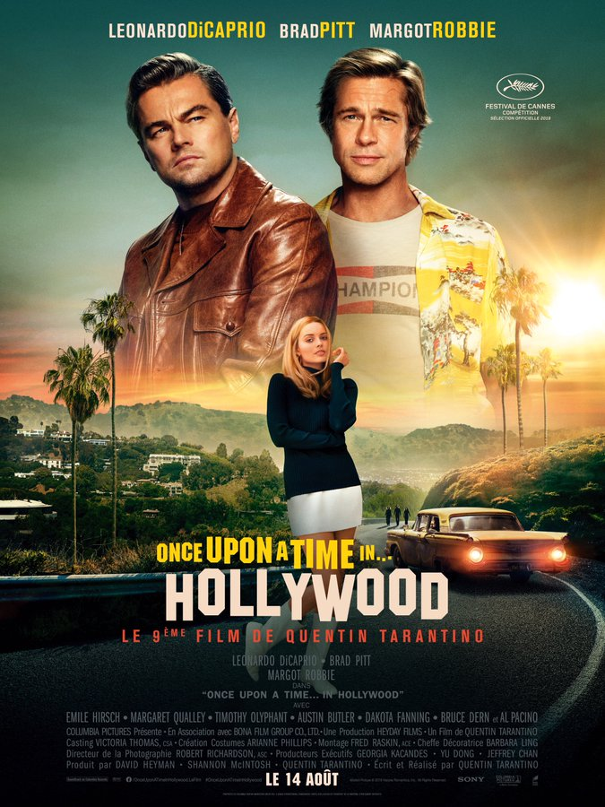 AfficheOnce Upon a Time… in Hollywood