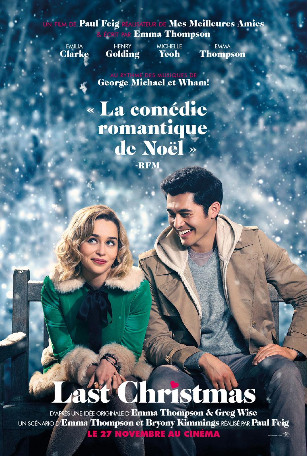Achat Last Christmas en DVD - AlloCiné