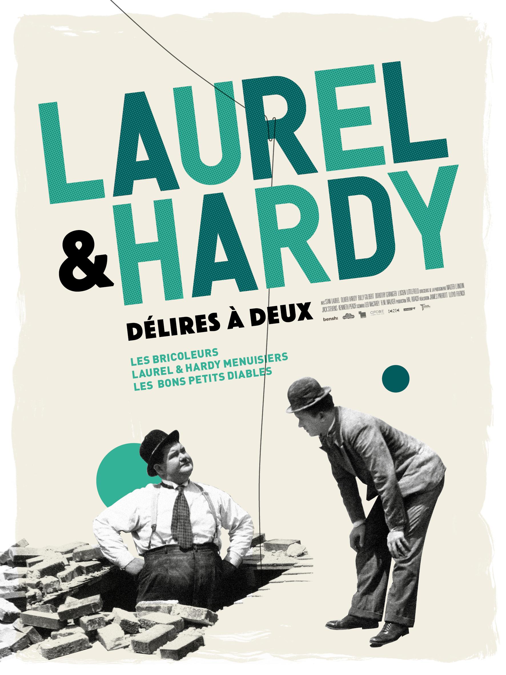 LAUREL ET HARDY DELIRES A DEUX
