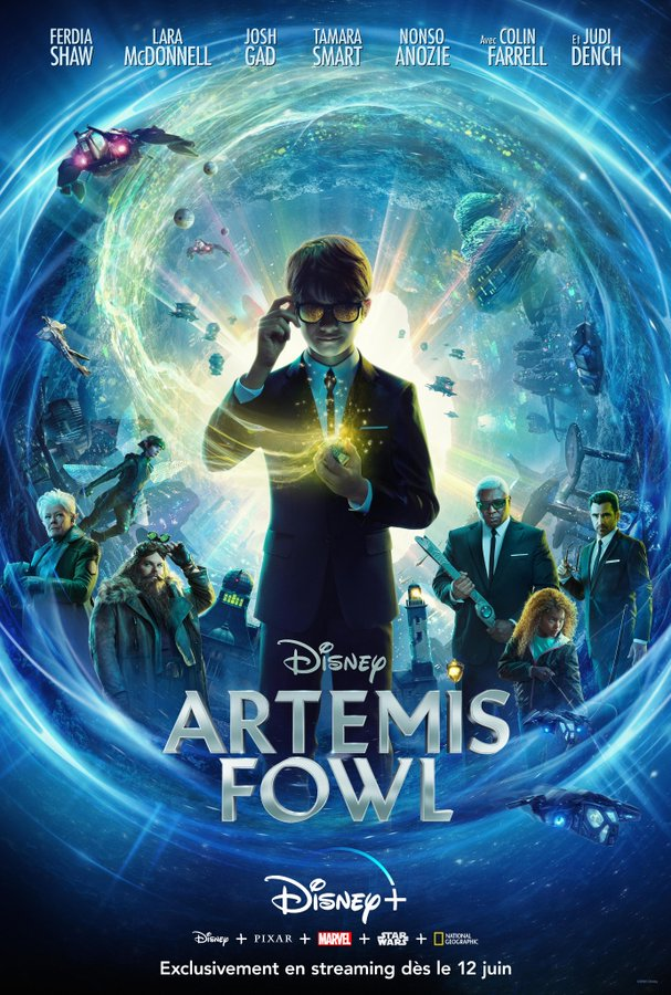 Artemis Fowl - film 2020 - AlloCiné