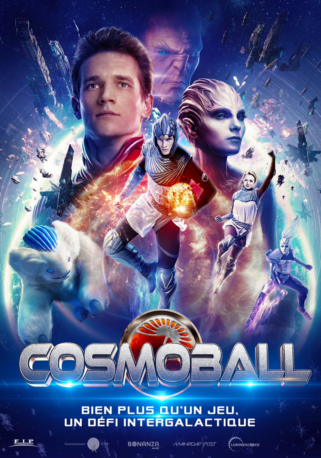 Cosmoball streaming