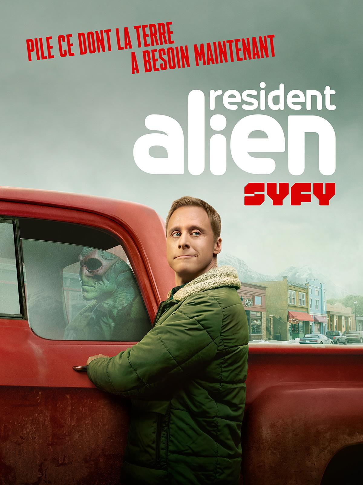 Resident Alien - Série TV 2021 - AlloCiné
