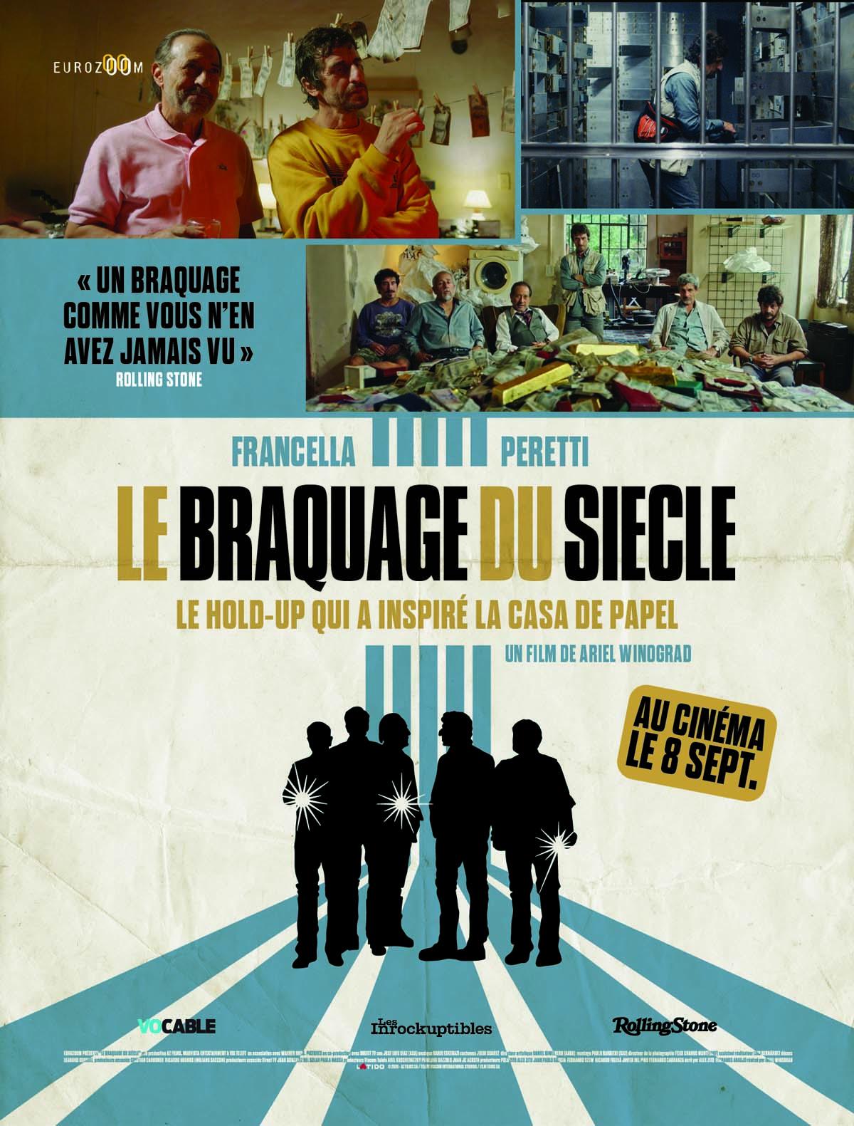 Affiche film LE BRAQUAGE DU SIECLE