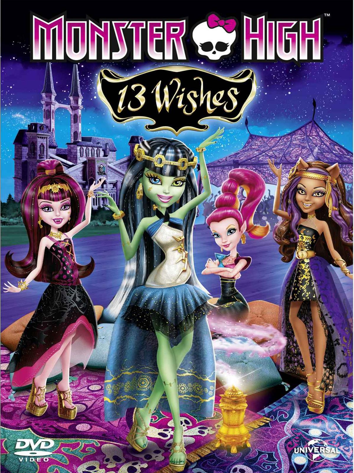 Monster High – 13 souhaits dvdrip