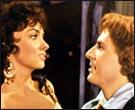 Gina Lollobrigida et Jean Danet