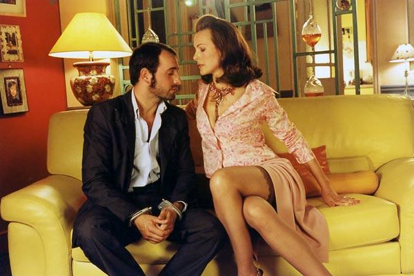 Jean Dujardin et Carole Bouquet <BR> Emilie De La Hosseraye