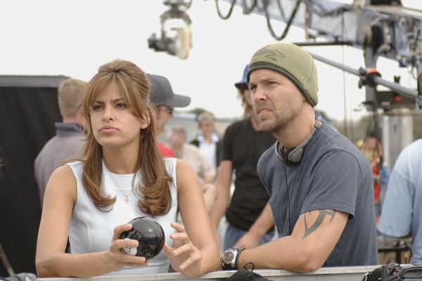 Eva Mendes et le réalisateur Mark Steven Johnson