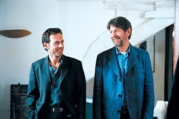 Le Grand rôle : Photo Peter Coyote, Stéphane Freiss, Steve Suissa