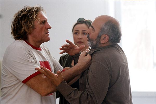 Gérard Depardieu, Catherine Frot et Gérard Jugnot