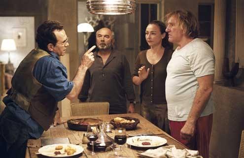 Gérard Jugnot, Catherine Frot et Gérard Depardieu