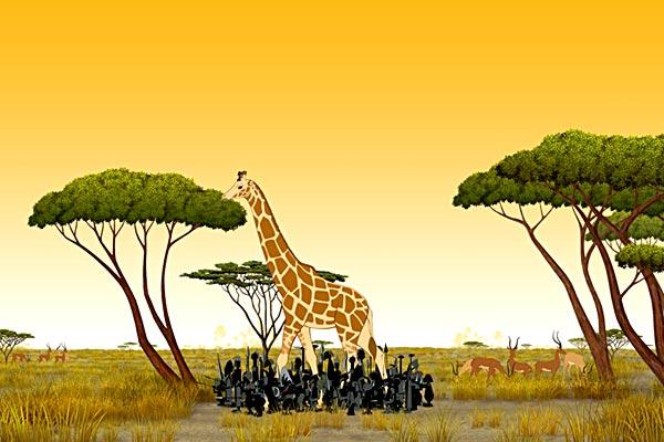 Kirikou et les bêtes sauvages: Michel Ocelot, Bénédicte Galup