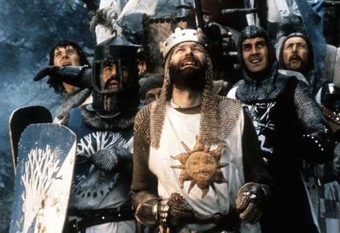 Monty Python, sacré Graal : Photo Graham Chapman, Terry Jones