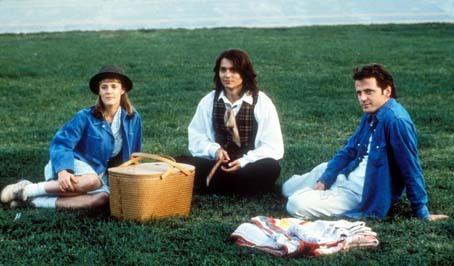 Mary Stuart Masterson, Johnny Depp et Aidan Quinn