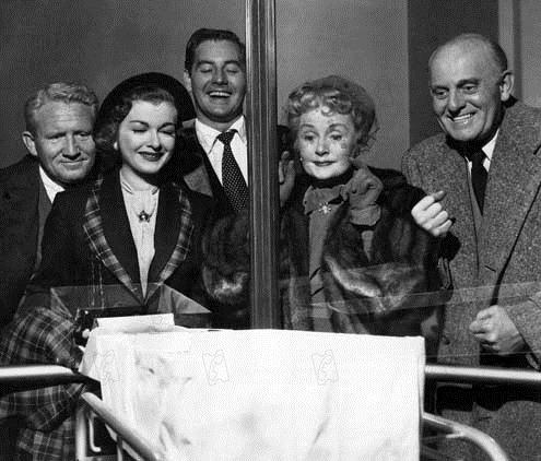 Spencer Tracy, Joan Bennett, Don Taylor, Billie Burke et Moroni Olsen