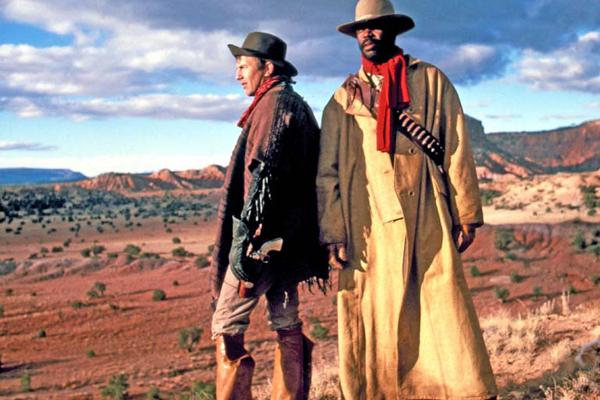Silverado : Photo Danny Glover, Kevin Costner, Lawrence Kasdan