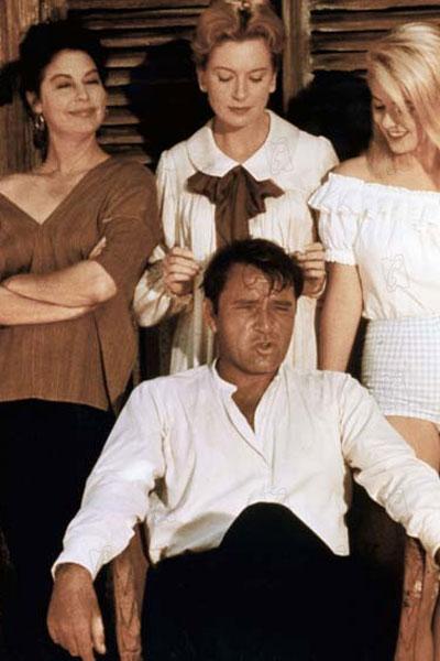 La Nuit de l'iguane : Photo Ava Gardner, Deborah Kerr, John Huston, Richard Burton, Sue Lyon