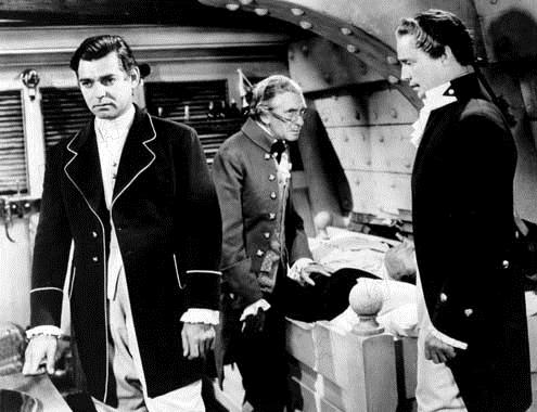 Franchot Tone et Clark Gable