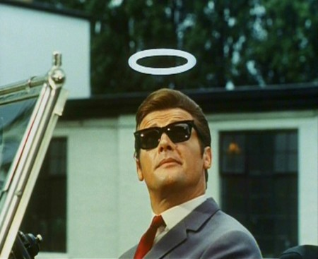 Le Saint : Photo Roger Moore