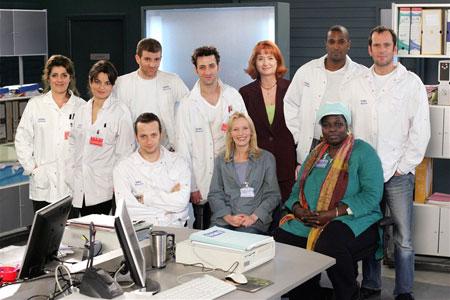 Équipe médicale d'urgence : Photo Christian Vadim, Dan Herzberg, Daniel Njo Lobé, Denise Chalem, Fanny Gilles
