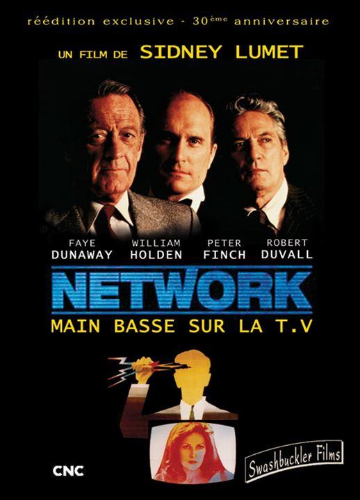Network, main basse sur la télévision: Faye Dunaway, Peter Finch