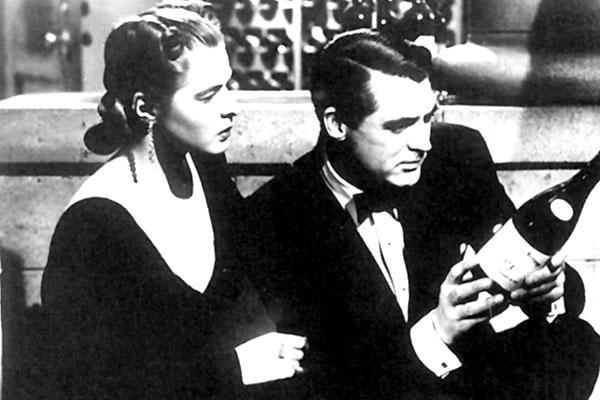 Ingrid Bergman et Cary Grant