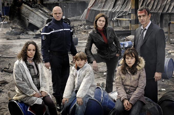 Ondes de choc : Photo Alexandra Vandernoot, Alika Del Sol, Armelle Deutsch, Aurélien Recoing, Jean-Yves Berteloot