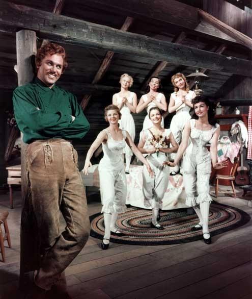 Les Sept femmes de Barberousse : Photo Howard Keel, Jane Powell, Julie Newmar, Nancy Kilgas, Ruta Lee