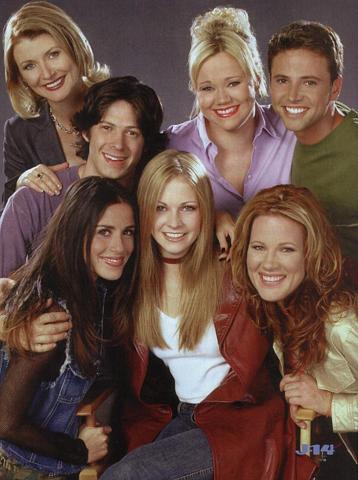 Sabrina, l'apprentie sorcière : Photo Beth Broderick, Caroline Rhea, Melissa Joan Hart, Soleil Moon Frye