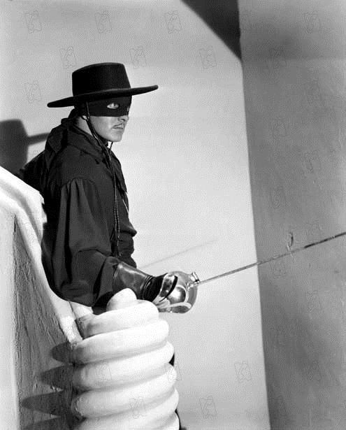 Le Signe de Zorro : Photo Rouben Mamoulian, Tyrone Power