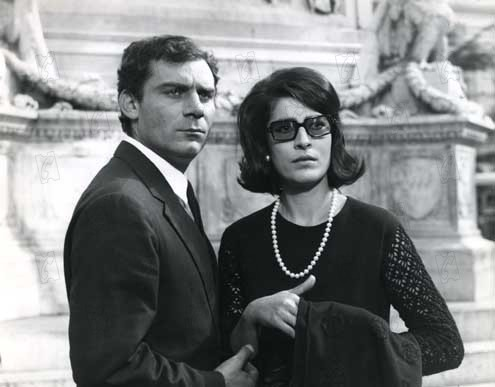 Gian Maria Volonte et Irène Papas
