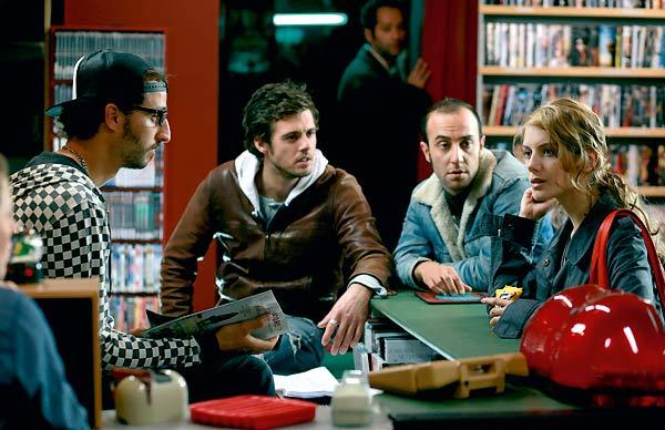 Arié Elmaleh, Lannick Gautry et Mélanie Laurent