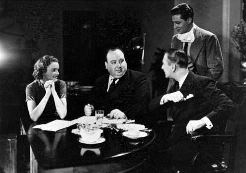 Alfred Hitchcock, Derrick de Marney et Nova Pilbeam