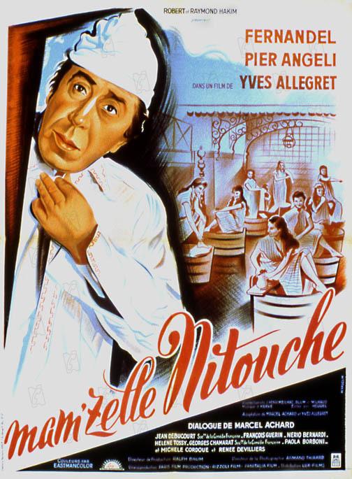 Mam'zelle Nitouche : Affiche Yves Allégret