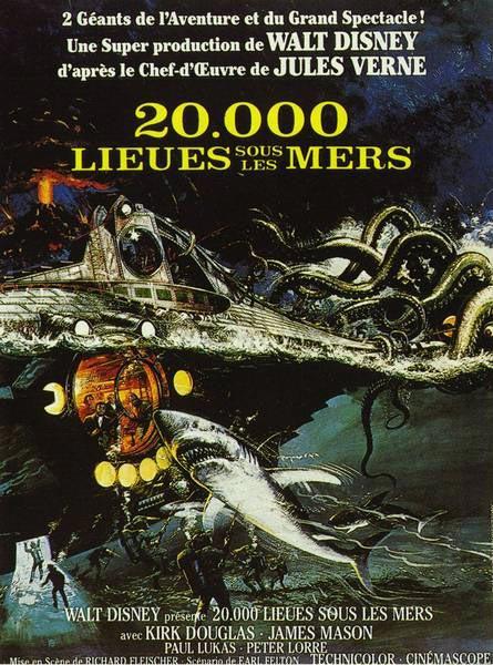 20.000 lieues sous les mers : Affiche Richard Fleischer