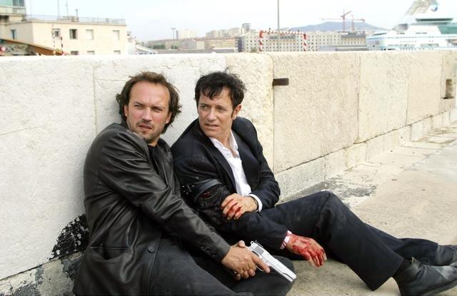 Le Juge : Photo Francis Huster, Vincent Perez